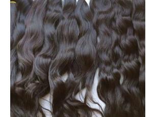 Indické panenské vlasové pramene 40 - 45cm