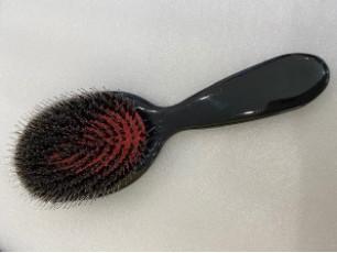 Vlasová kefa na predĺžené vlasy - karbónová