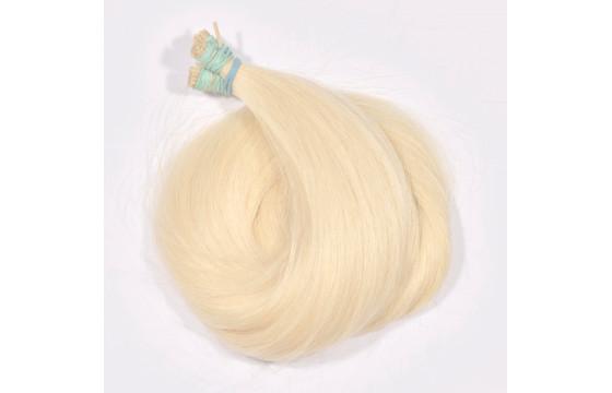 Vlasové pramene veľmi svetlá blond 30-35cm