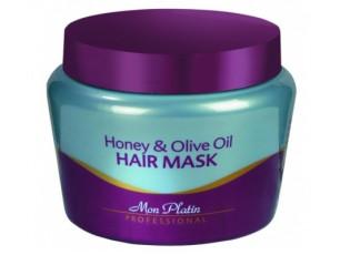 Vlasová maska – med a olivy 100ml