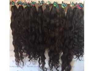 Brazílske panenské vlasové pramene 40-45cm