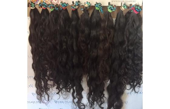 Brazílske panenské vlasové pramene 45-50cm