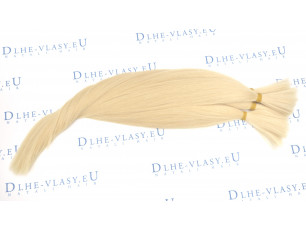 Veľmi svetlá blond 55-60cm, 20g