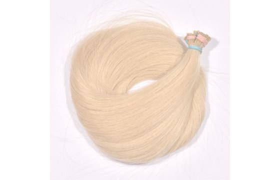Vlasové pramene béžová blond 30-35cm