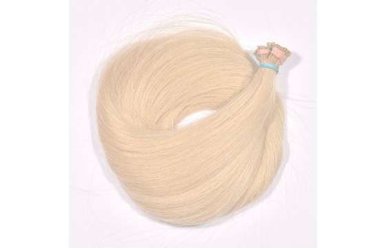 Vlasové pramene Béžová blond 70-75cm