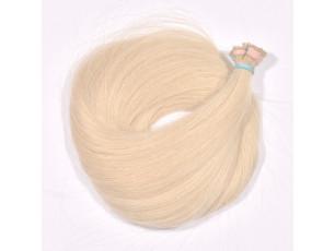 Vlasové pramene Béžová blond 35-40cm