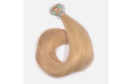 Vlasové pramene Medová blond, 60-65cm