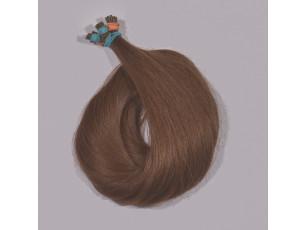 Vlasové pramene Stredne hnedá 40-45cm